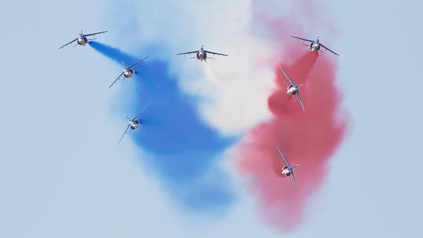 Aviojet, C-101, CASA, French Air Force, Patrouille Acrobatique de France, RIAT 2015, Split