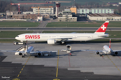 Boeing 777-3DE(ER)   HB-JNH   c/n 62753  Swiss International Air Lines      ZRH     3/29/2019 This work is licensed under a Creative Commons Attribution- NonCommercial 4.0 International License