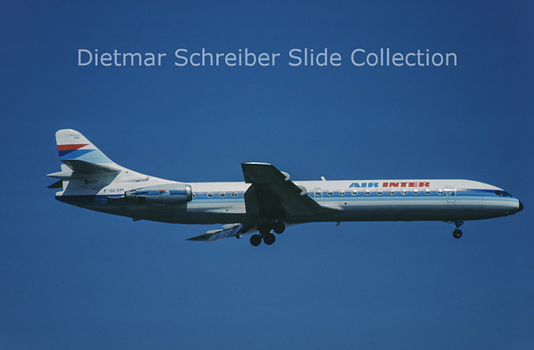 1989-05-08 F-GCVM Sud Aviation Caravelle 12 (c/n 270) Air Inter