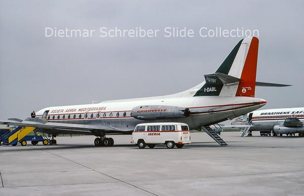 I-DABL Sud Aviation Caravelle 6N (c/n 132) SAM