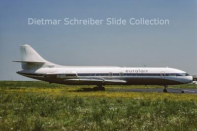 1977-09 F-BTDL Sud Aviation Caravelle 6R (c/n 136) Euralair