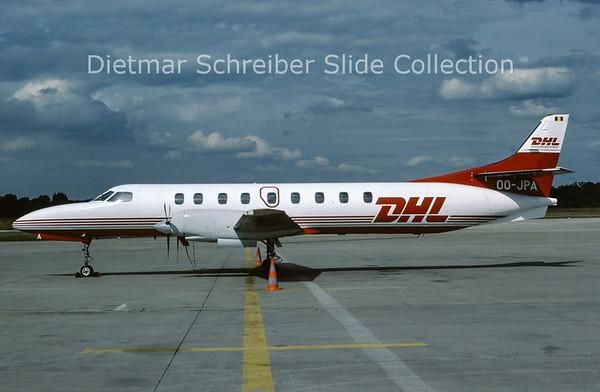 1988-07 OO-JPA Swearingen Merlin IV (c/n AT-041) European Air Transport