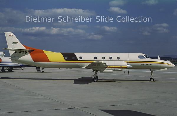 1987-04-22 D-IDEP Swearingen Merlin IV (c/n AT-018) Ratioflug