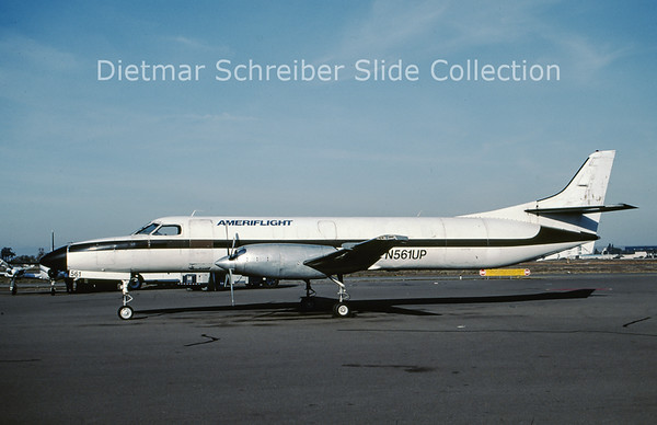 2000-11 N561UP Swearingen Merlin IVC (c/n AT-561) Ameriflight