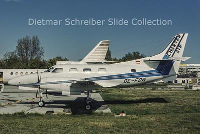 OE-FOW Swearingen Merlin III (c/n T-318) Charter Air