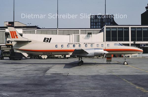 1984-04 N191MA Swearingen Metro III (c/n AC-475 ) Midstate