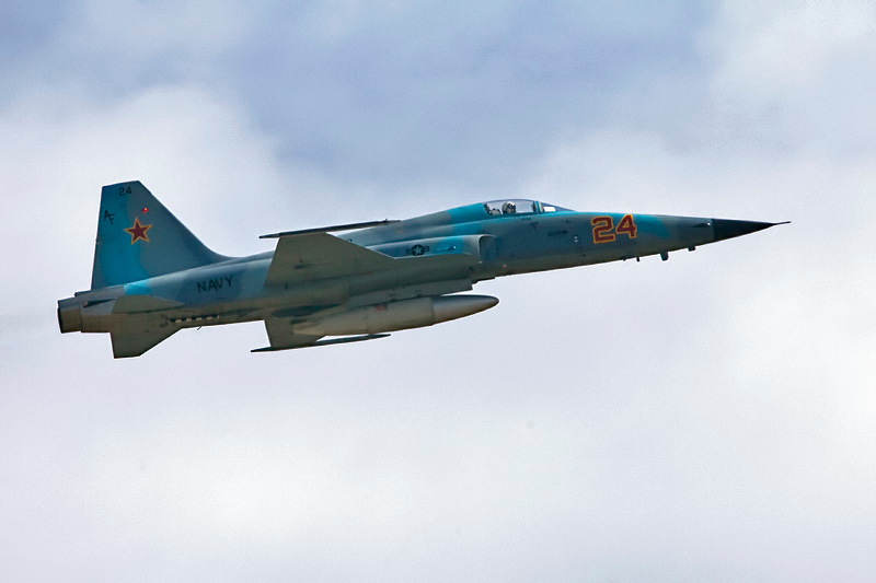 T-38 in aggressor paint
