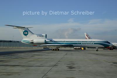 2006-12-06 RA-85782 Tupolev 154 Alrosa Avia