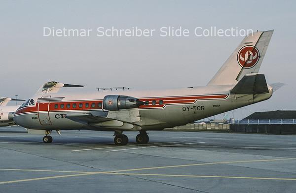 1979-04 OY-TOR VFW 614 (c/n G04) Cimber Air