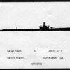 WWII Submarine Identification Card