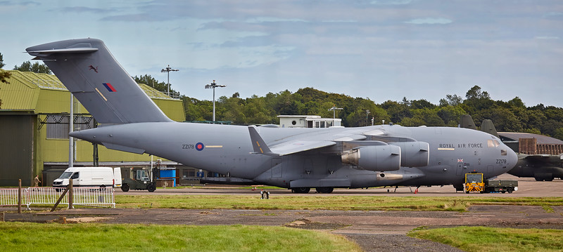 RAF Boeing C-17A Globemaster III (ZZ178) at Leuchars - 7 September 2016