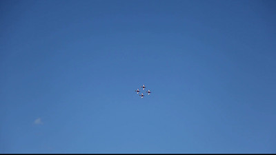RAAF Roulettes demonstration at Wings Over Illawarra Air Show 2013
