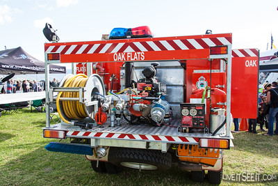 NSW RFS Oak Flats Cat 7 Tanker at Illawarra Air Show May 2013
