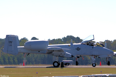 "Fairchild Republic A-10 Thunderbolt II ""Warthog"" Rome GA 10/12/2018 This work is licensed under a Creative Commons Attribution- NonCommercial 4.0 International License."