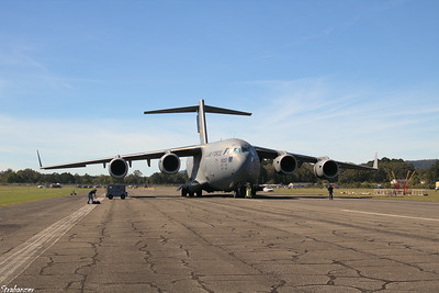 Boeing C-17A Globemaster III s/n P-207   09-9207 Rome GA 10/12/2018 This work is licensed under a Creative Commons Attribution- NonCommercial 4.0 International License.