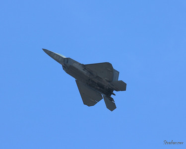 USAF F-22 Raptor Rome GA 10/12/2018 This work is licensed under a Creative Commons Attribution- NonCommercial 4.0 International License.
