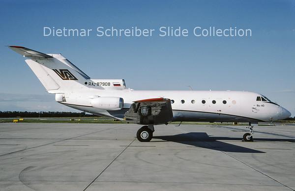 2009-07 RA-87908 Yakovlev 40 (c/n 9721354) Aero Limuzin