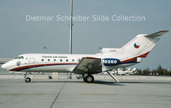2009-04 0260 Yakovlev 40 (c/n 9940260) Czech Air Force