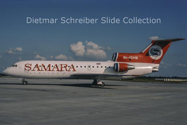 RA-42418 Yakovlev 42D (c/n 23219118) Samara Airlines