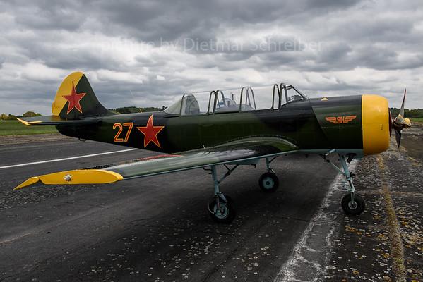 2017-04-29 G-YAKX Yakovlev 52