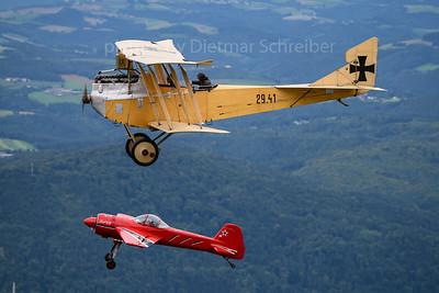 2020-08-24 OE-VCI Hansa Brandenburg / OE-CTC Yakovlev 55