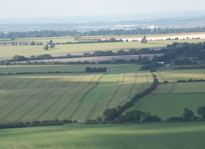 Draycott Farm, Chiseldon, RWY 36, July 2002
