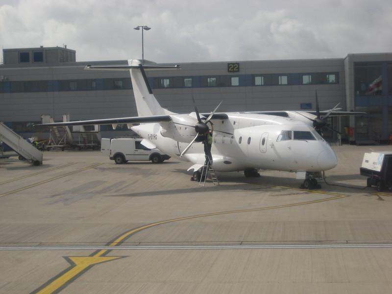 Loganair Dornier 328 at LCY