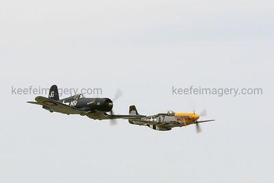 "F-4U ""Corsair"", P-51D ""Mustang"""