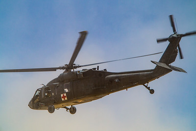 UH-60 Blackhawk Medevac Closeup