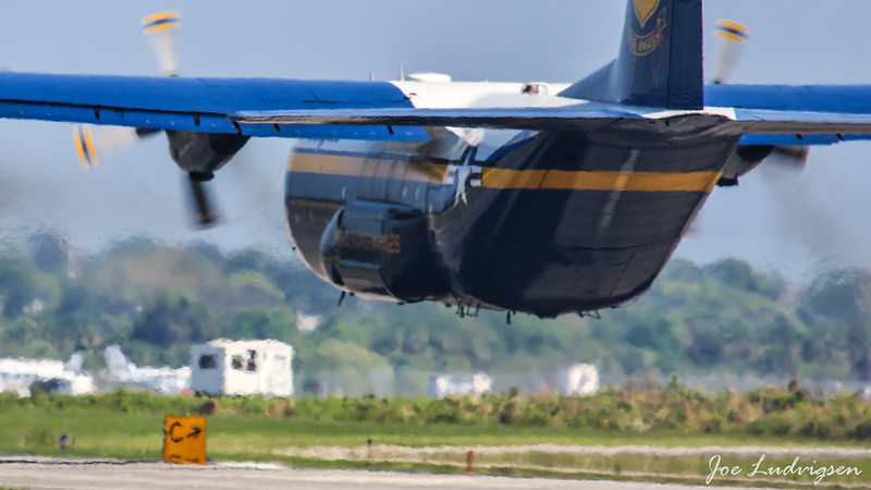 Fat Albert take off