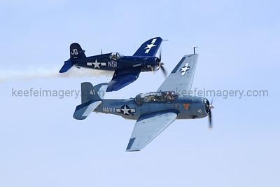 "F-4U ""Corsair"", TBM-3 ""Avenger"""
