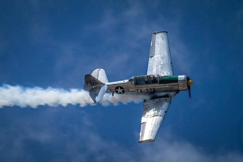 A-6 Texan at Oakland County Airport