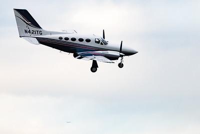 Landing at Teterboro