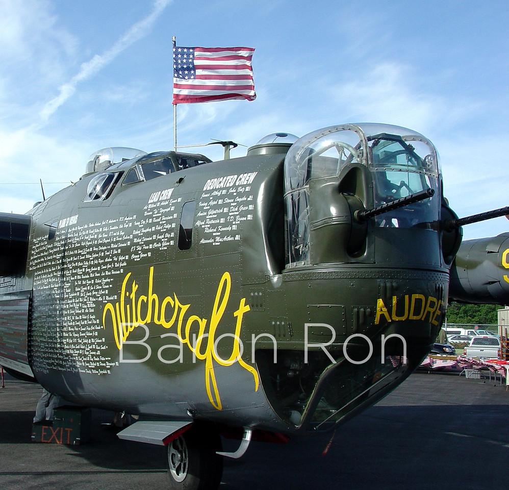 Old Witchcraft, B-24 Warbird Bomber.