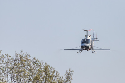 OH-58 Spraying for Mosquitos