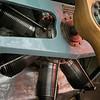 Nieuport IV-G engine detail