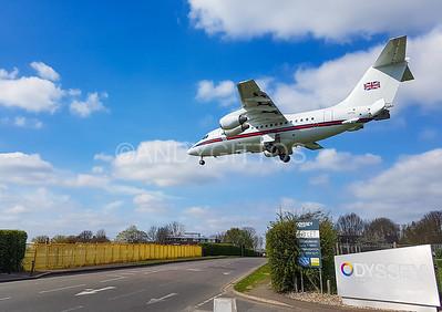 RAF Northolt Arrival