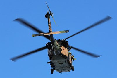 Army Blackhawk  helicopter training Perth