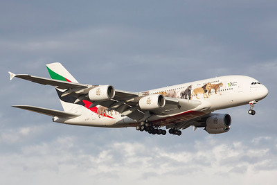 A6-EOM Emirates Airbus A380-861