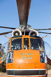 N154AC Sikorsky S-64E Skycrane (MSN 64-037), named 'Georgia Peach', of Erickson Air-Crane