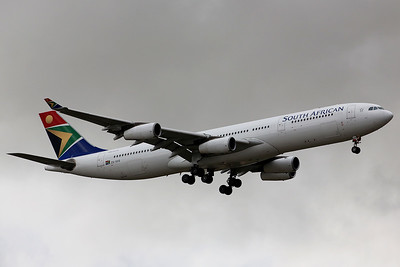 South African Airways Airbus A340, ZS-XSG