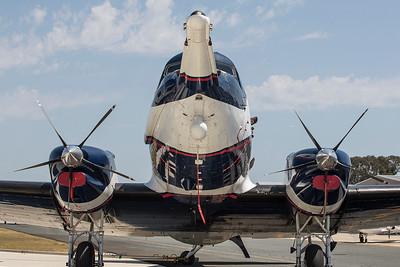 ZS-ASN Douglas DC-3 Basler Turboprop
