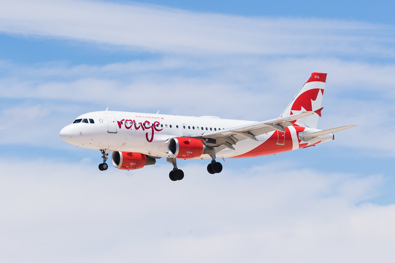 -(Airline) Air Canada Rouge<br /> -(Aircraft) Airbus A319-100<br /> -(Aircraft Registration) C-GBHO<br /> -(Flight Number) Air Canada Rouge 1898<br /> -(Flight Route) Vancouver International Airport, Canada to McCarran International Airport, NV
