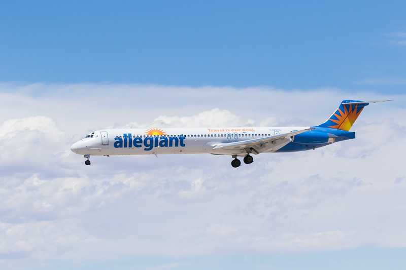 -(Airline) Allegiant Air<br /> -(Aircraft) McDonnell Douglas MD-83<br /> -(Aircraft Registration) N426NV<br /> -(Flight Number) Allegiant Air 9426<br /> -(Flight Route) Albuquerque International Sunport, NM to McCarran International Airport, NV