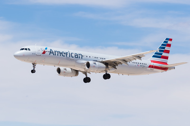 -(Airline) American Airlines<br /> -(Aircraft) Airbus A321-200<br /> -(Aircraft Registration) N979UY<br /> -(Flight Number) American Airlines 670<br /> -(Flight Route) Dallas-Fort Worth International Airport, TX to McCarran International Airport, NV