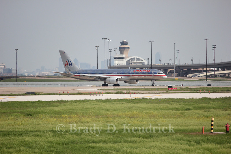 Airline:  American Airlines<br /> <br /> Aircraft Type:  Boeing 757-200<br /> <br /> Photo Location:  Dallas Forth Worth International Airport in Fort Worth, Texas