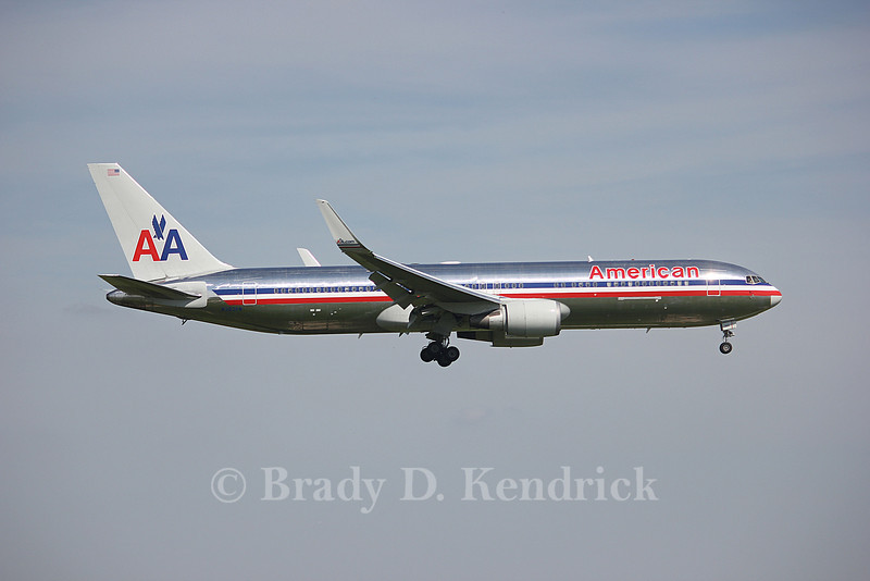 Airline:  American Airlines<br /> <br /> Aircraft Type:  Boeing 767-300<br /> <br /> Photo Location:  Dallas Fort Worth International Airport in Fort Worth, Texas