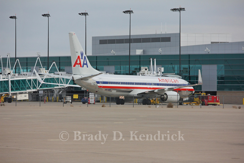 Airline: American Airlines<br /> <br /> Aircraft Type: Boeing 737-800<br /> <br /> Photo Location: Rick Husband International Airport in Amarillo, Texas