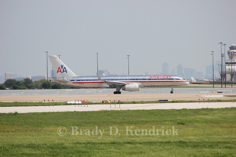 Airline: American Airlines<br /> <br /> Aircraft Type: Boeing 757-200<br /> <br /> Photo Location: Dallas Fort Worth International Airport in Fort Worth, Texas