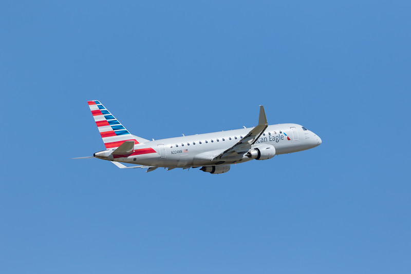 -(Airline) American Eagle - Operated by Envoy Air<br /> -(Aircraft) Embraer ERJ 175<br /> -(Aircraft Registration) N224NN<br /> -(Flight Number) Envoy 3276<br /> -(Flight Route) Rick Husband Amarillo International Airport, TX to Dallas-Fort Worth International Airport, TX